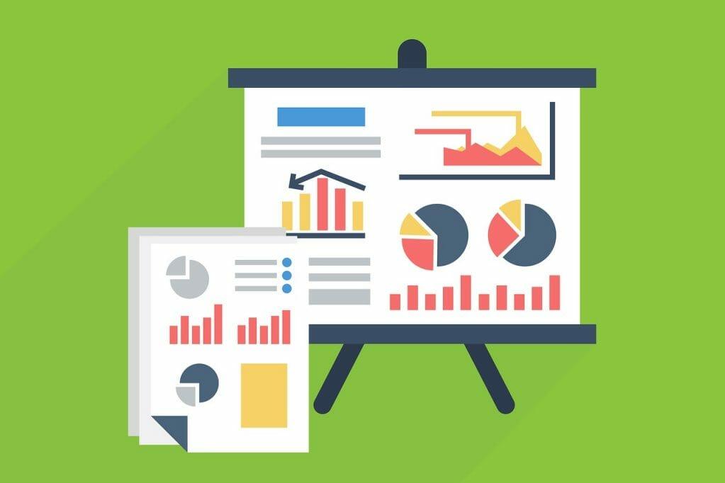 statistics, graph, chart